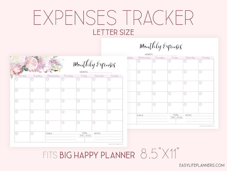 graphic relating to Etsy Printable identified as Financial investment Tracker Printable, Regular monthly finances Planner, Finance planner.