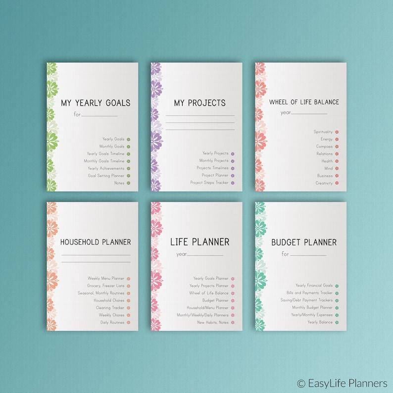 LIFE PLANNER Printable Ultimate Life Binder A4 Size Home image 0