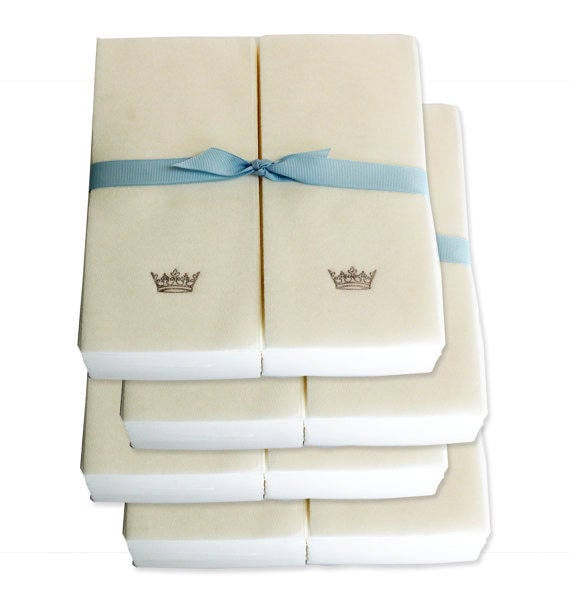 Crown Jewel Bath Set 12 Bath Towels 12 Hand Towels 12: Nature's Linen Disposable Guest Hand Towels Wrapped With A