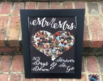 Mr. & Mrs. Photo Frame