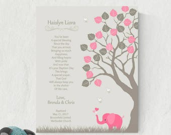 Goddaughter Print | Gift For Goddaughter | Baptism Print | Girls Baptism Gift | Naming Day Gift | Girl Christening - 50777