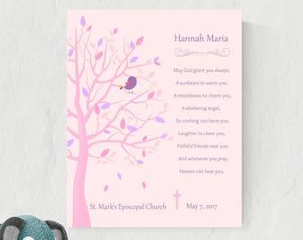Christening Gift For Goddaughter | Baby Dedication Gifts | Christening Gift From Godfather | Baptism Poem From Godparents - 31677