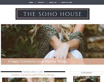 The SoHo House Blogger Template