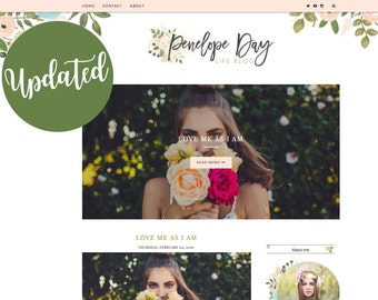 Penelope Blogger Template