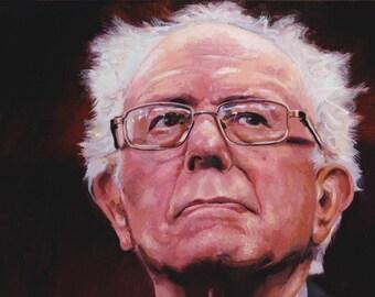 Bernie Sanders Limited Edition Postcard Print
