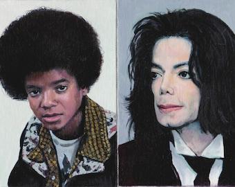 Michael Jackson Original Oil Paintings