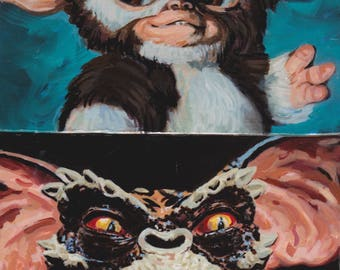 Gremlins Original Oil Paintings!