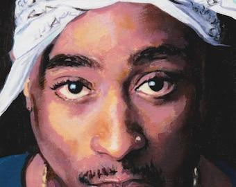 Tupac Limited Edion Postcard Print