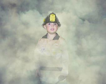Smoke background with PNG smoke overlay