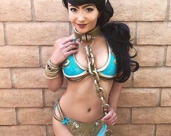 Bikini leia metal princess