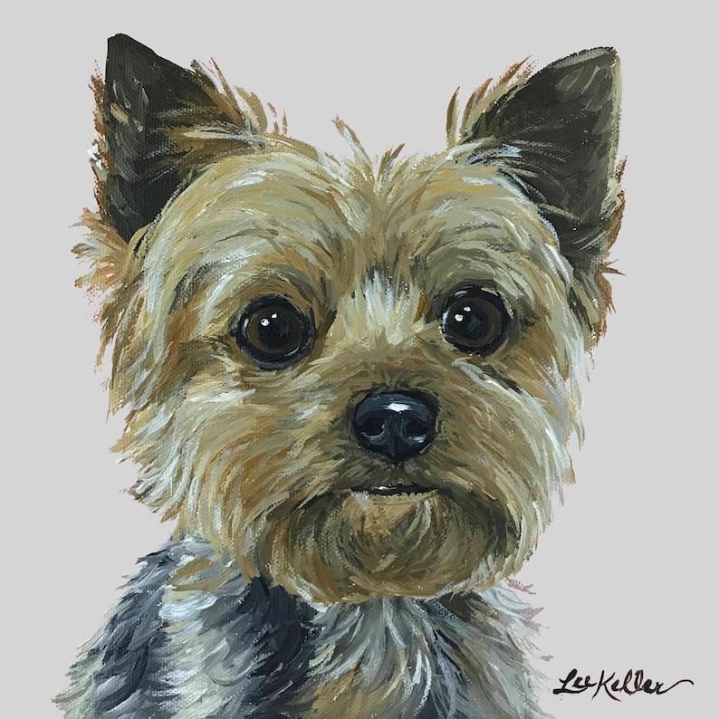 Yorkie art print from original Yorkshire terrier painting, Yorkie art  print, Yorkie prints, Yorkshire Terrier Art, Yorkshire Terrier Prints