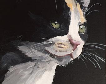 Custom Dog Portrait, Custom Cat Painting, Custom Dog Painting,  Custom Pet Portrait