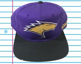 sports shoes 8642a ec7d8 Vintage 90s St. Louis Stallions Starter Plain Logo Snapback Hat