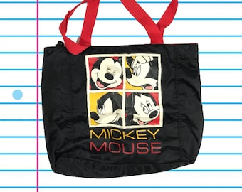 47802ace9d1 Vintage 80s Mickey Mouse Classic Tote Bag