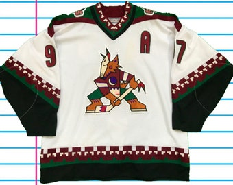 Vintage 90s Phoenix Coyotes Authentic Starter Jeremy Roenick  97 Center Ice  Hockey Jersey. Size 54-R fde08367e