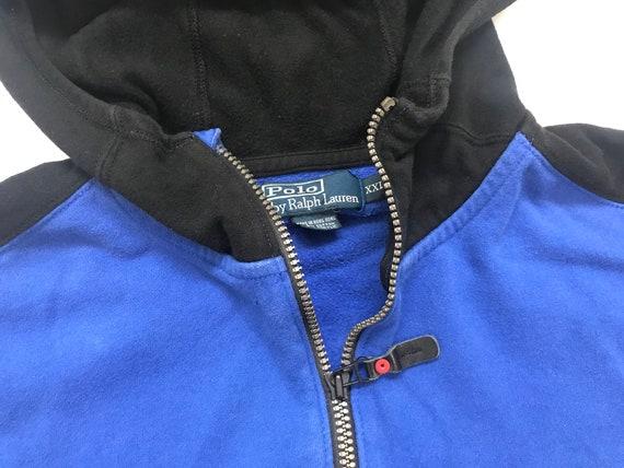 ... Vintage des années Blue 90 Polo RL Active Ralph Lauren Blue années  Crest Full Zip Hoodie ... b10eec11bcc0
