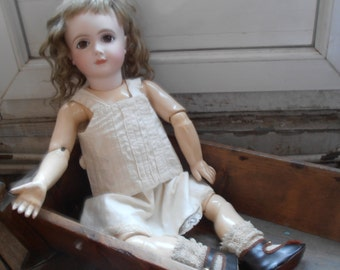 A French vintage doll top