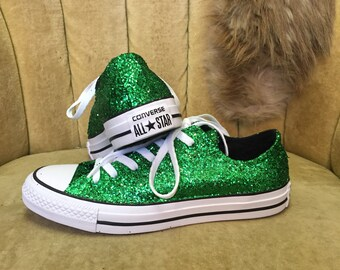 Mint green converse | Etsy