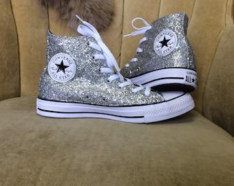 converse high glitter