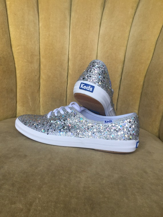 Authentic holographic silver glitter