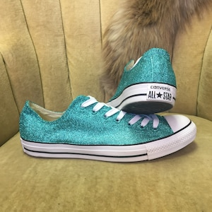 Authentic converse all stars in teal