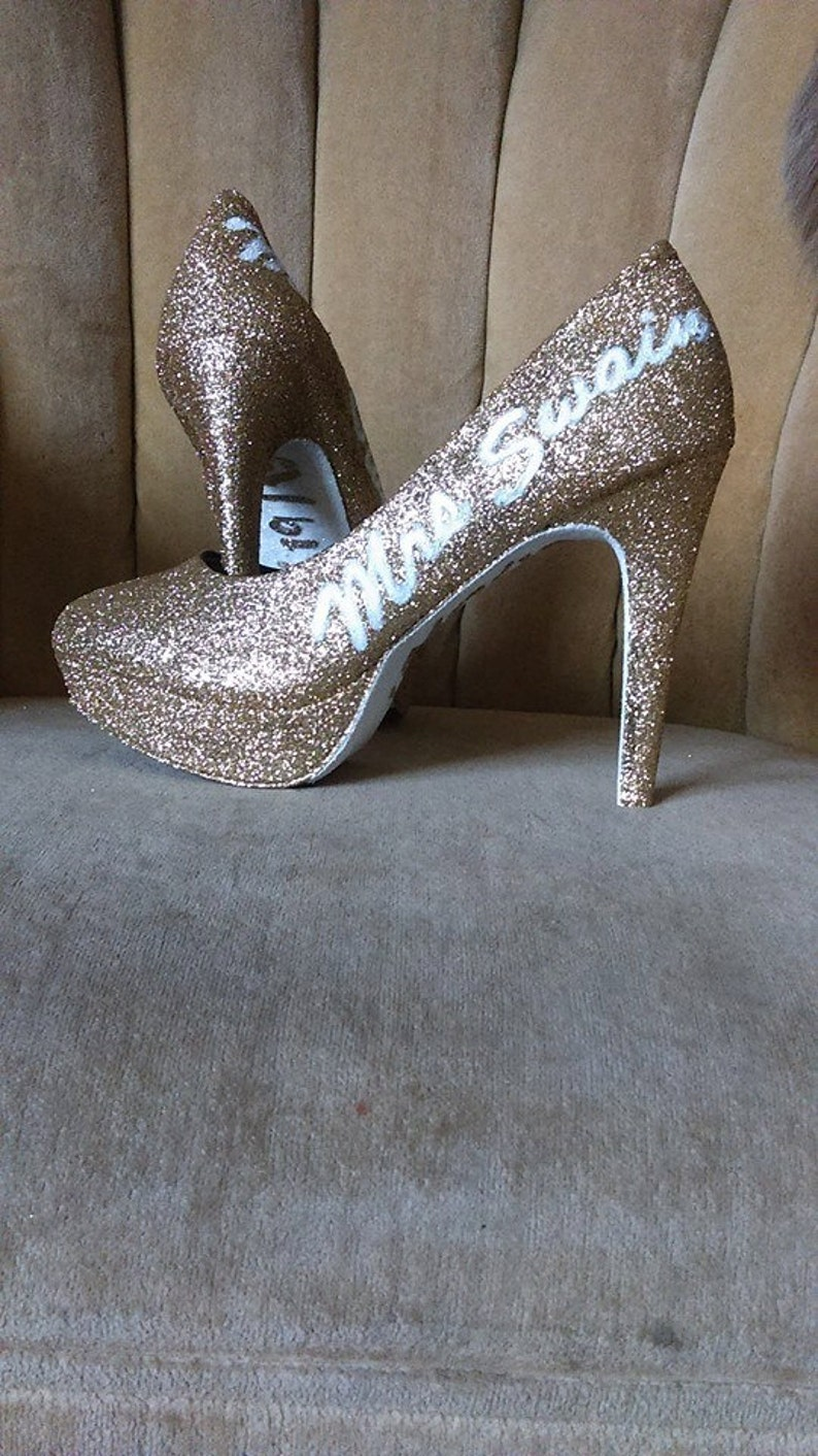 Personalized high heels. Sizes 5.5-11