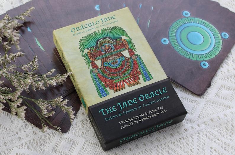 The Jade Oracle Deck: Deities & Symbols of Ancient Mexico image 0