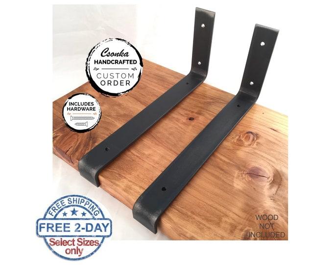 Featured listing image: Custom Size Lip Shelf Bracket Orders