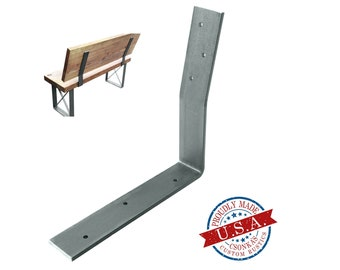 Backrest Bench Metal bracket (SINGLE)