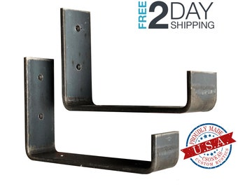 "2 Pack - 5.5""L x 4""H Hook Shelf Brackets"