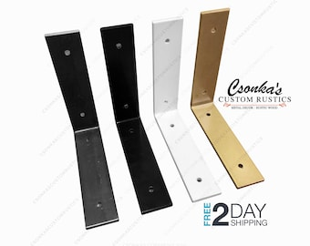 Powder Coated Color Angle Shelf Brackets