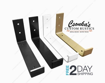 Powder Coated Color Hook Shelf Brackets
