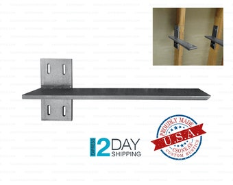 """Heavy Duty 3/8"""" Thick Wall Stud Mount Countertop Support Bracket"""