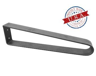 Flat Bar Hairpin Metal Leg (Single Leg Ordering)