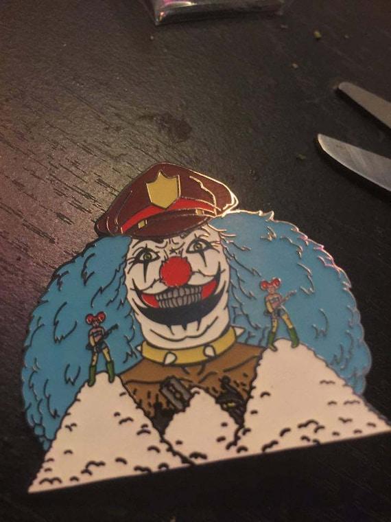 Dr Rockso Soft Enamel lapel pin metalacolypse