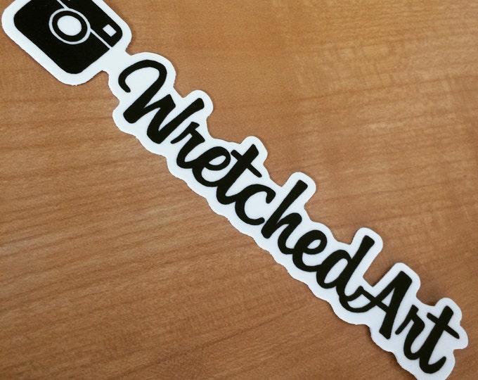 WretchedArt Instagram Stickers!