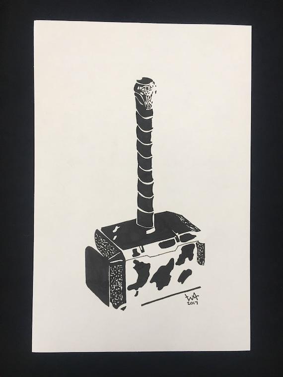 Thor's Hammer - Print