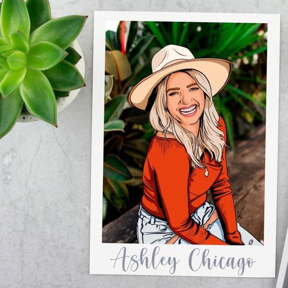 Custom Digital Pop Art Portrait