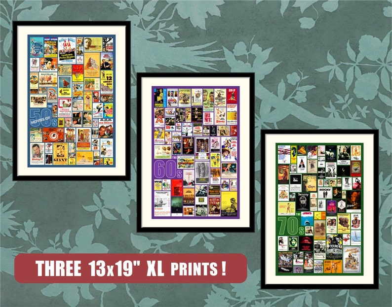 3-Poster Combo, 25% Discounted Offer, Movie Posters Print, Movie Posters,  Movie Posters Art, Film Posters Decor, Movie Posters Gift