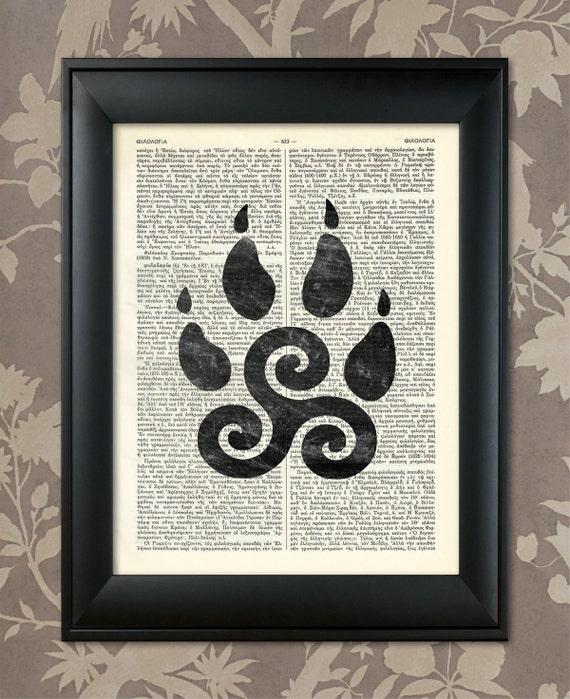 Teen Wolf Inspired Art Teen Wolf Triskelion Celtic Symbol Etsy