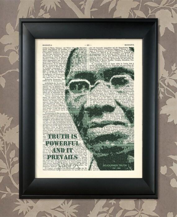 Sojourner Truth, Quote, Sojourner Truth Art, Sojourner Truth, Print,  Sojourner Truth, African-American, Black Lives Matter, Black Heritage