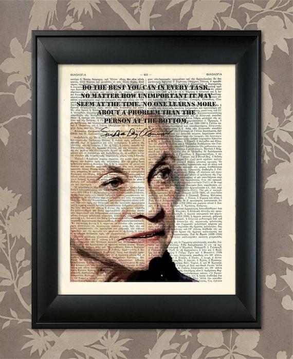Sandra Day O'Connor Quote Day O'Connor Print Day Etsy Interesting Sandra Day O Connor Quotes