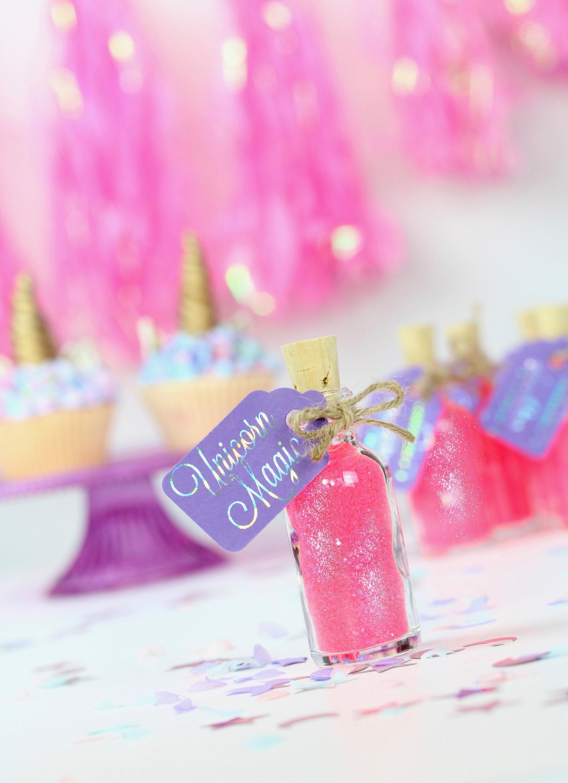 Unicorn Party Theme Unicorn Party Favors Fairytale Unicorn | Etsy