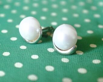 Earrings, clip on earrings, women earrings