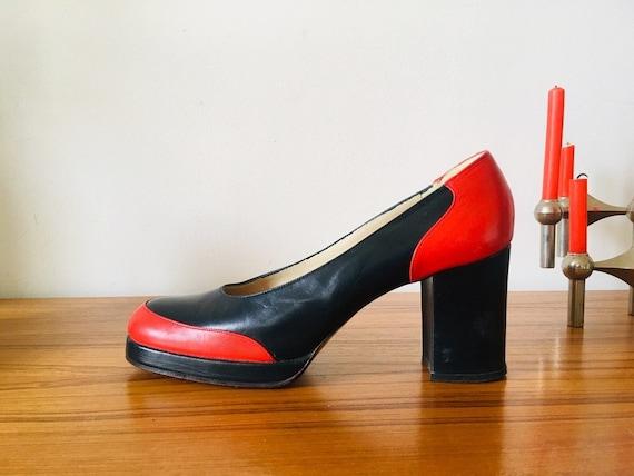 Vintage women shoes, vintage, seventies shoe shoe