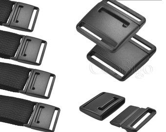 """100 PC 3//4/"""" Quick Release Plastic Male End Buckle Part Only"""