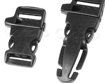 schnalle seite release schnallen rucksack teile paracord armband sichern