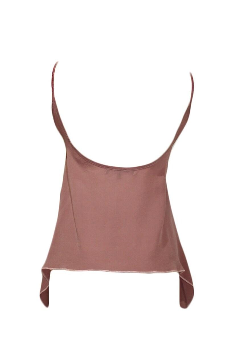 Bianca Dusty Pink Silk Camisole