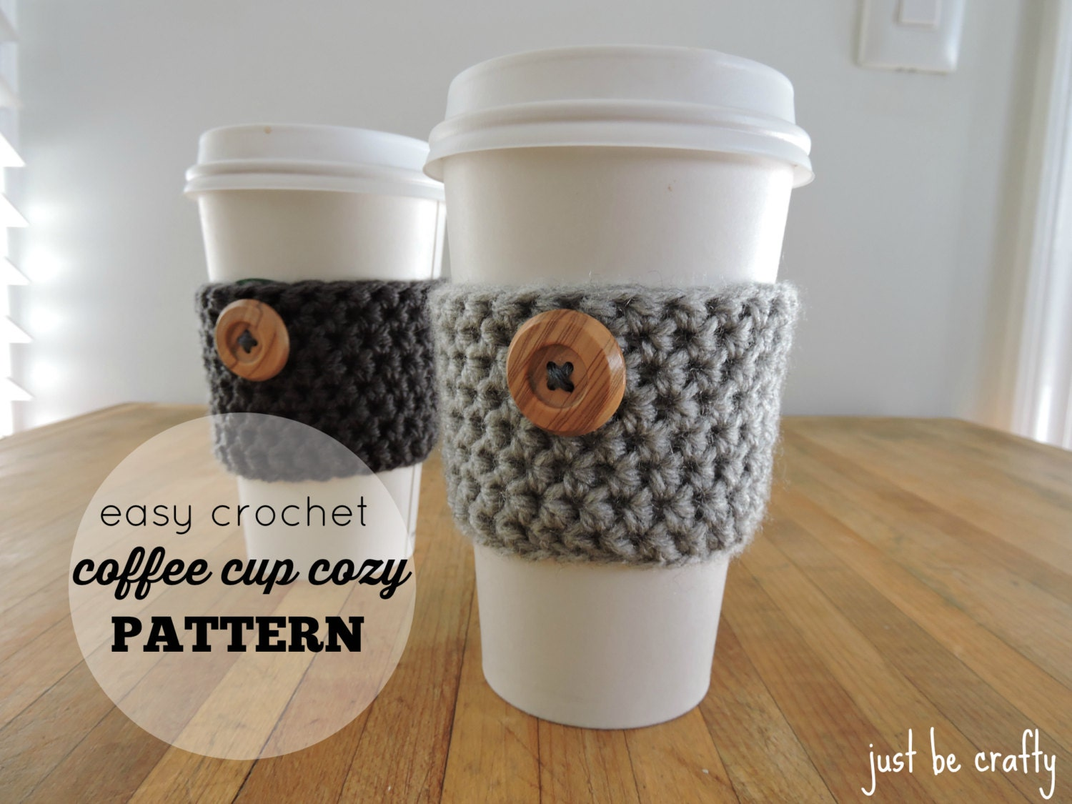 Starbucks Cup Cozy Crochet Pattern Simple Inspiration Ideas