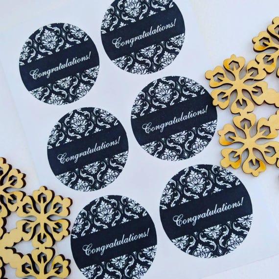cardmaking Happy Birthday Stickers Envelope seals gift tag